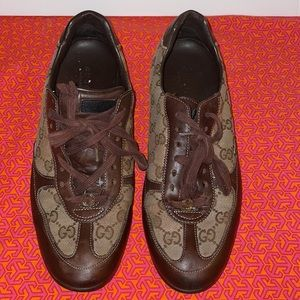 Gucci GG Sneakers Brown